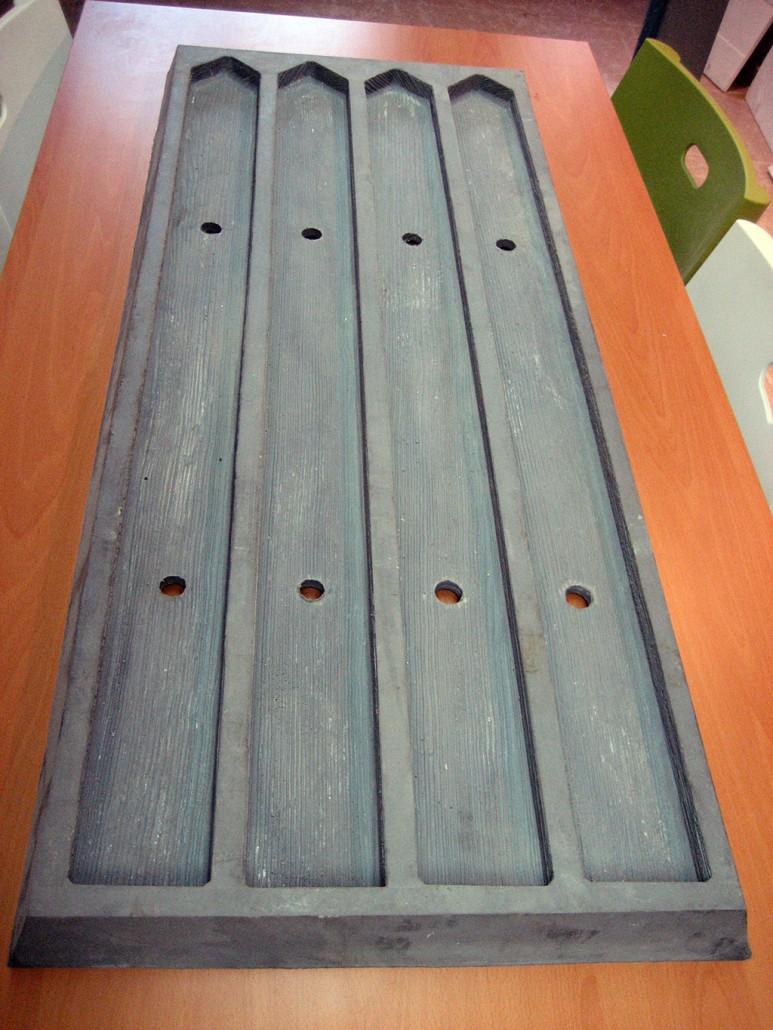 Moldes valla imitaci n madera decomol bdn s l - Vigas de hormigon imitacion madera ...