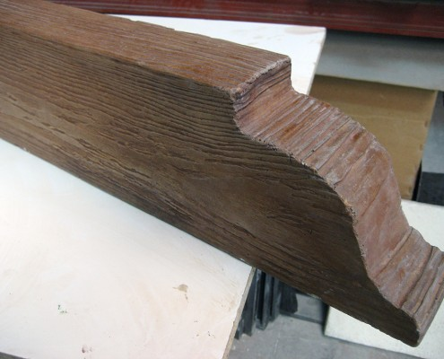 Simular vigas de madera